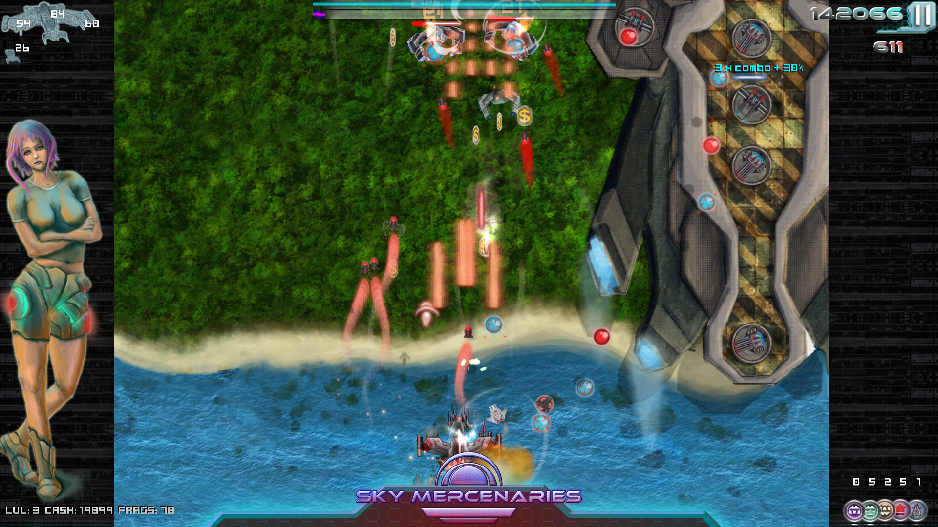 Sky Mercenaries Screenshot